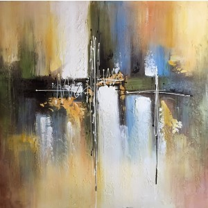 Modrest Abstract Oil Painting