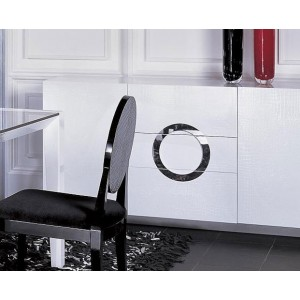 A&X Ovidius Modern White High Gloss Buffet