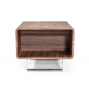 Modrest Avis Modern Walnut End Table