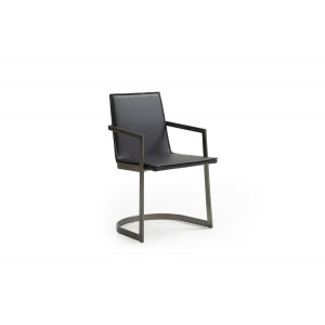 Jago - Modern Black Dining Chair (Set of 2)