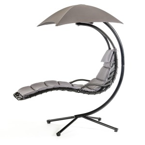 Renava Bahama Outdoor Grey Hanging Lounge Chair