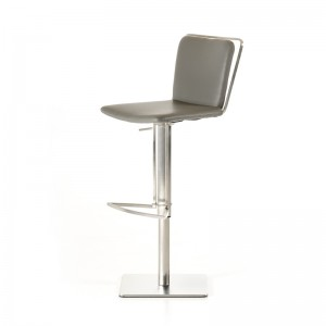 Modrest Nora Modern Grey Bar Stool