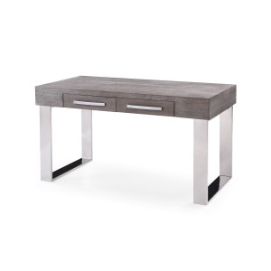 Modrest Lola Modern Grey Elm Desk