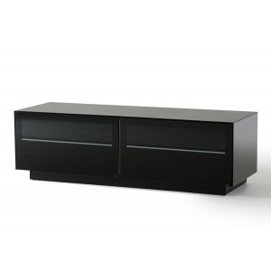 Modrest Carter Contemporary Black TV Stand