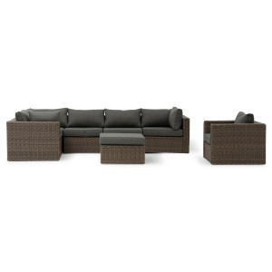Renava Catalina Outdoor Grey Sectional Sofa Set