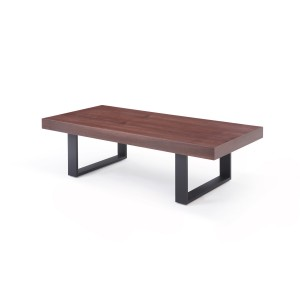 Modrest Lola Modern Walnut Coffee Table