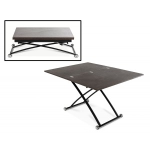 Modrest Tier Modern Swivel Coffee Table Coffee Tables