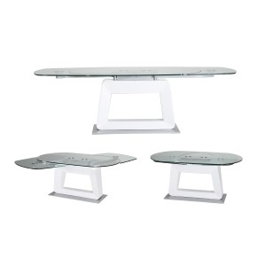 Modrest Leida Contemporary Extendable Dining Table