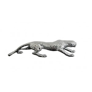 Modrest Jaguar Modern Silver Sculpture