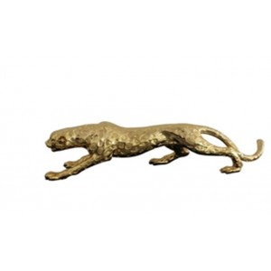 Modrest Jaguar Modern Gold Sculpture