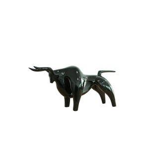Modrest Oxen Modern Black Sculpture