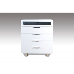 Modrest Dylan Modern White Chest
