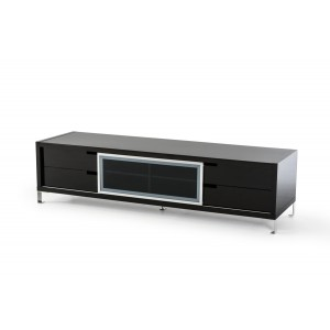 Modrest Edward Modern Black High Gloss TV Stand