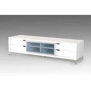 Modrest Edward Modern White TV Stand