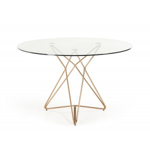 Modrest Zenith Modern White Extendable Dining Table
