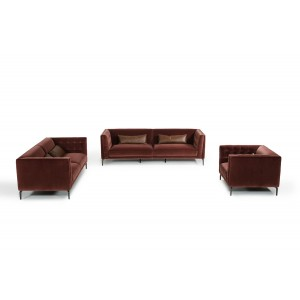 Divani Casa Ansted Modern Fabric Sofa Set
