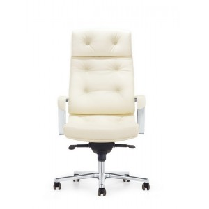 Modrest Forbes Modern White High-Back Office Chair