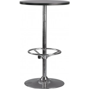 Modrest FS-3-03A Modern Black Bar Table