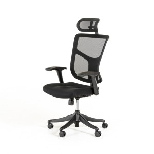 Modrest James Modern Black Office Chair