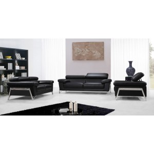 Divani Casa Encore - Modern Leather Sofa Set