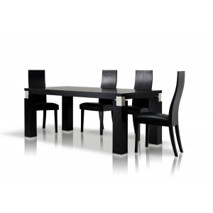 Modrest Escape - Black Oak Dining Table
