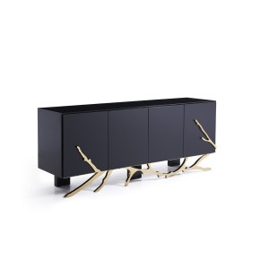 Modrest Legend Modern Black & Gold Buffet