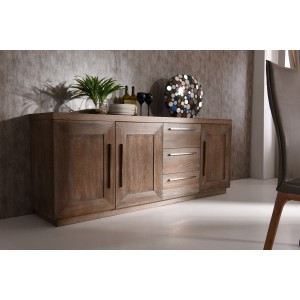 Modrest Cologne Modern White Wash Oak Buffet