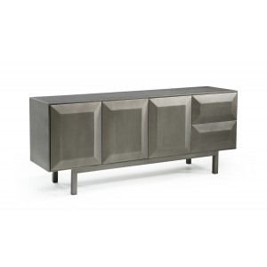 Modrest Jago Contemporary Black Gun Buffet