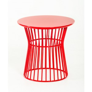 Modrest Graph Modern Red End Table