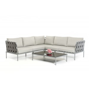 Renava Hamptons Modern Outdoor Sectional Sofa Set