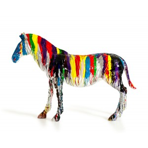 Modrest Large Rainbow Horse Sculpture