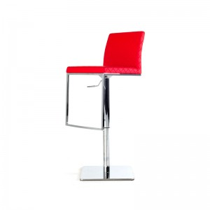 Modrest Folsum Modern Red Bar Stool