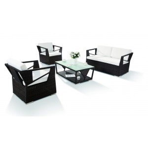 Renava H0909 - 4-Piece Modern Patio Sofa Set