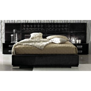 LA STAR Moon - Composition 06 - Modern Italian Bed with Nightstands
