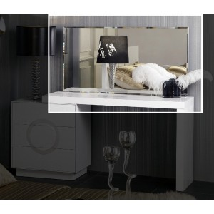 A&X Ovidius - Transitional Chrome Framed Mirror