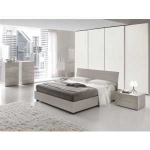 SMA Karisma - Made in Italy Contemporary Grey Bed