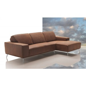 Dima Elite Modern Africa Leather Sectional Sofa - Made In Italy