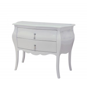 Modrest Ophelia - White Bedroom Dresser