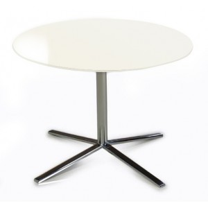 Versus T48A - White End Table