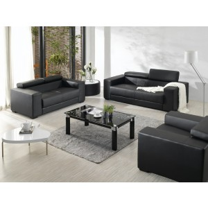 Divani Casa 2909 - Modern Bonded Leather Sofa Set