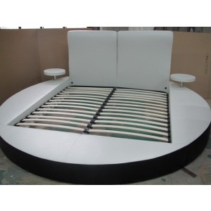 GBK017A Modern White Eastern King Bed