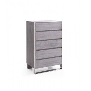 Modrest Arlene Modern Grey Elm Chest