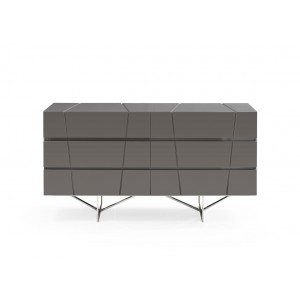 Modrest Chrysler Modern Grey Dresser