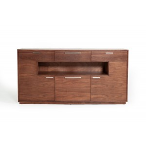 Modrest Jett Contemporary Walnut Buffet