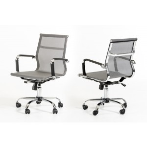 Modrest Julia Modern Grey Office Chair