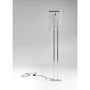 Modrest KF1003 Modern Crystal Floor Lamp