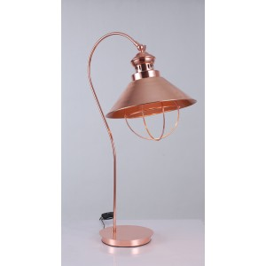 Modrest Helmut Modern Copper Table Lamp