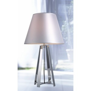 Modrest KM064T Modern Stainless Steel Table Lamp