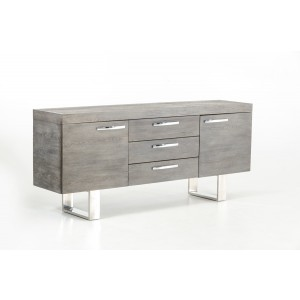 Modrest Lola Modern Grey Brush Buffet