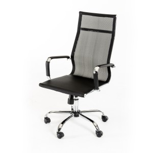 Modrest Louisa Modern Black Office Chair